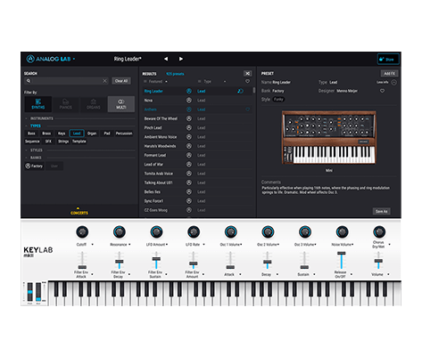 Arturia Analog Lab 4 v4.0.2.2865 WIN Free Download