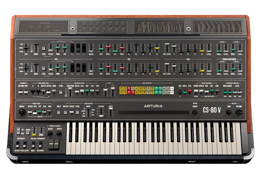 synthetiseur cs-80 yamaha virtuel