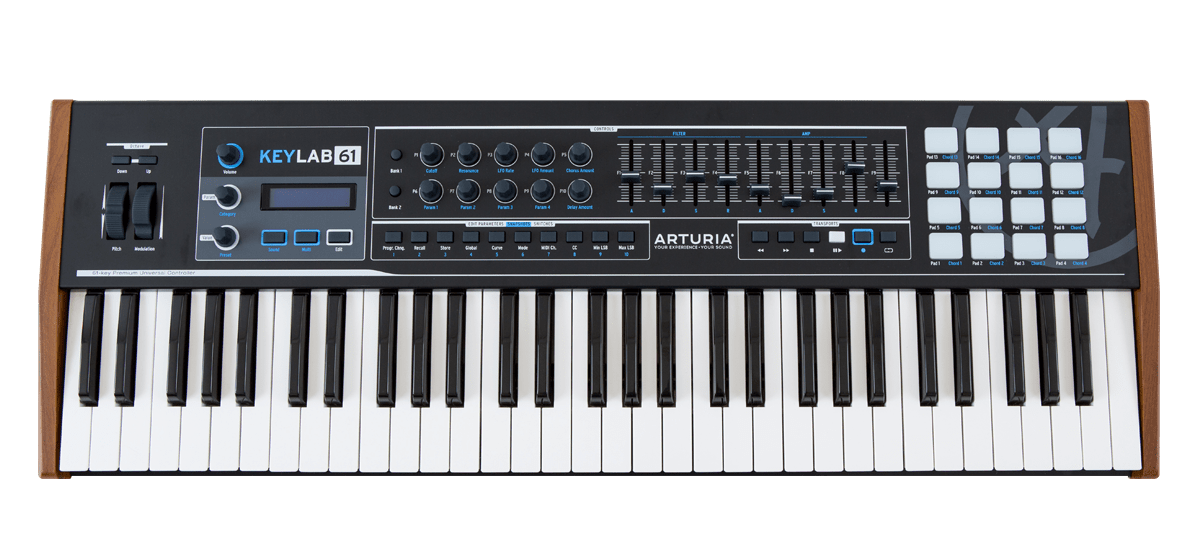 ARTURIA KEYLAB 61 BLACK EDITION KEYBOARD CONTROLLER DRIVERS FOR WINDOWS 8