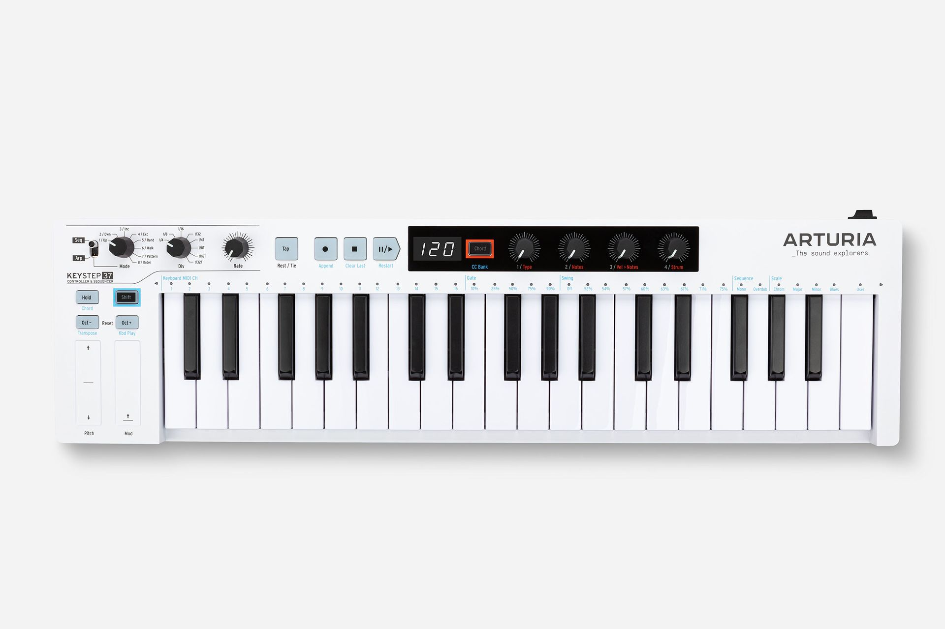 Arturia KeyStep Pro 37-Tasten-MIDI-Controller
