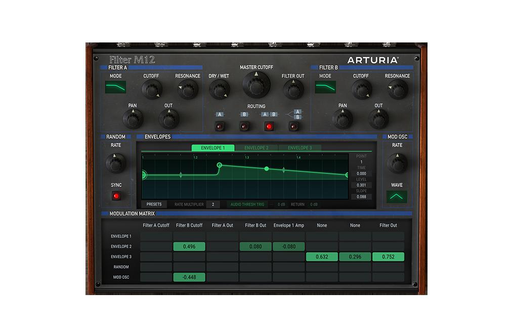 Arturia - M12-Filter