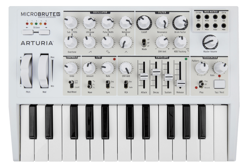 Arturia MicroBrute SE Keyboard Connection 64 BIT