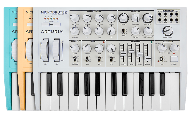 ARTURIA MICROBRUTE SE KEYBOARD CONNECTION DRIVERS FOR WINDOWS 7