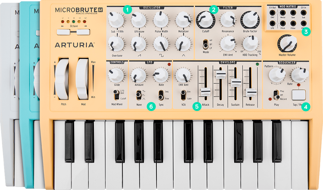 ARTURIA MICROBRUTE SE KEYBOARD CONNECTION WINDOWS 10 DRIVERS