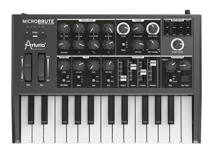 Arturia MicroBrute SE Keyboard Connection Windows 8 X64