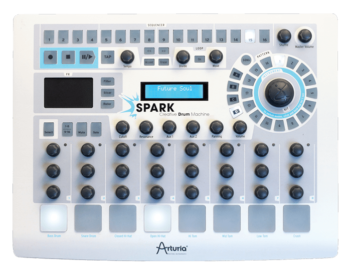 arturia spark vintage drum machines free download