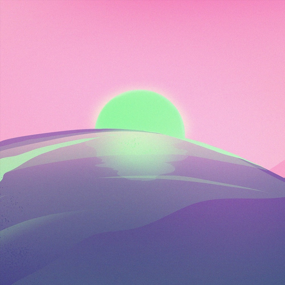 Synthwave 2085 icon