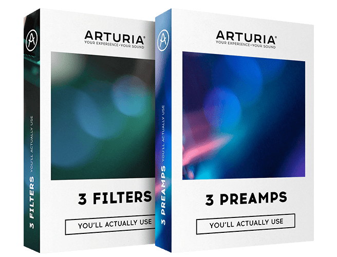 Arturia 3 FILTERS & 3 PREAMPS